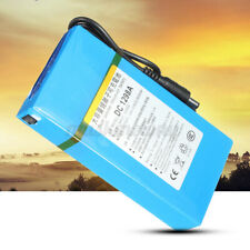 DC-1298A DC 12V 9800mAh Rechargeable Portable Powerful Liion Battery For