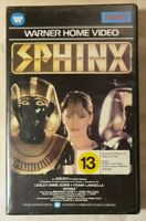 Sphinx VHS 1980 Adventure Franklin J. Schaffner Warner Home Video [Ex-Rental]