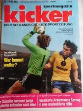 KICKER 78- 26.9. 1977 * Bayern-Schalke 7:1 Köln-Dortmund 4:1 ST.Pauli-Hertha 3:0