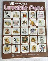 Kooler Cross Stitch Booklet ~ 99 Luvable Pets, 99 Unique Pet Patterns #LA3994