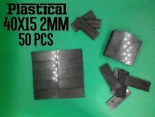 40x15mm 15x40mm 2mm plastic miniature bases Warhammer BUY 2 PACKS GET 1 FREE