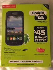 Samsung GALAXY Ace Straight Talk         ****BRAND NEW IN UNOPENED BOX****