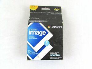 Polaroid Spectra Image Instant Film NOS/Sealed (2) Packs of 10 Expired 2007