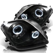 Projector Head Lights Lamps Honda Prelude 1997-2001 HALO - Black