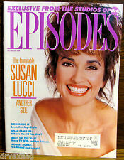 Episodes Magazine Vintage July-August1990 Lucci/Dubac/Herring/Gh/Ol tl/Lov/Abc