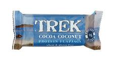16 x barras de cacao Coco Proteína-Trek 50g ** ** Sin Gluten