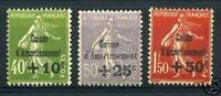 "FRANCE 1931 Y&T 275/77 ""5eme SERIE C. A.""NEUFS xx TTB"