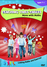 TimesTables Maths DVD - Multiplication DVD! Learn how to Multiply