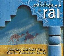 CD album: collectif: anthologie du raï. mélodie
