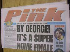 02/05/1998 COVENTRY evening Telegraph il rosa: principali titolo recita: da George!