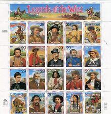 Stati Uniti/United States  1994 leggende del west personaggi mnh