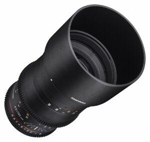 Samyang 135mm T2.2 VDSLR Manual Focus Video Lens for Sony-E Mount