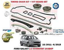 Pour Ford Galaxy Ecoboost 203BHP 2012-2015 Distribution Kit Chaîne et Vvt Gears