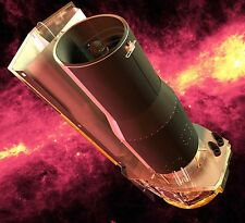 Spitzer Space Infrared NASA Telescope Wood Model Replica Small Free Shipping