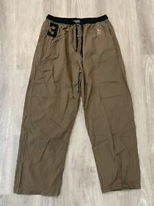 Polo Ralph Lauren Sleepwear Men's Large Pants Brown Big Pony #3 Embroidered