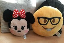 Nerd Emoji And Mini mouse Emoji Cushion
