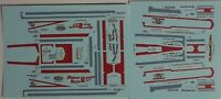 TRUCK DECAL - SUPERBOSS KENWORTH DRAG TRUCK - 1/25 - REPRODUCTION