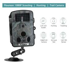 【Upgraded】 Floureon Trail Game Camera 1080P 12MP Wildlife Hunting Camera Night
