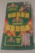 Mighty Morphin Power Rangers Stamp & Color Set - #328