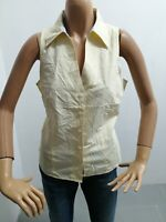 Camicia TOMMY HILFIGER Donna Taglia Size 12 Shirt Woman Chemise Femme Estate7954