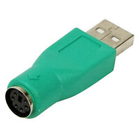 USB Male to PS/2 Female Converter Adapter Adaptor For MOUSE & KEYBOARD PS2.