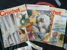 fiches catalogue crochet 11 modèles mode décoration maison doudou couverture BB