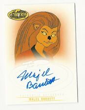 Majel Barrett Star Trek Tos Complete Animated Adventures Autograph Card Auto A5