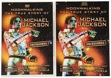 Michael Jackson - Moonwalking - The True Story Of Michael Jackson... DVD + Book