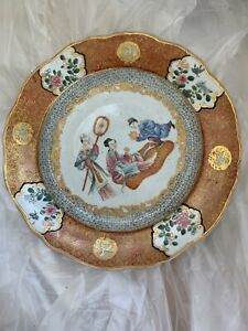 Pastel character story plate