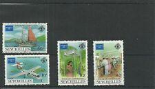 SEYCHELLES-SG644-647-AMERIPEX 86 -MNH