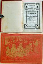 1920 Palestine CHARITY INSTITUTIONS Miniature HAGGADAH Jerusalem HOSPITAL Israel