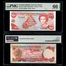 [PMG] Cayman Islands 100 Dollars, 1996, P-20, EPQ 66, UNC