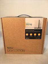 NEW Synology DS216j DiskStation NAS + 6TB (2x3TB) Hitachi 7200RPM HDDs