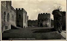 Ludlow Castle England s/w AK ~1950/60 Chapel and State Apartments Post Card