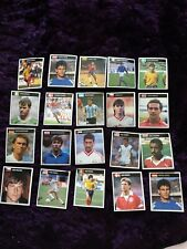 60 Vintage orbis Football italia 90 world cup stickers world cup rare