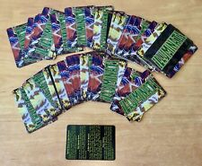 Lot of 110 Illuminati Cards - Including Blanks & Rules Card for Specials