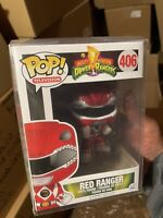 Funko Pop! Red Ranger New Protector Power New Vaulted 406