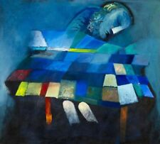 Charles BLACKMAN 'Dream Image' collectable limited edition pigment print - quilt