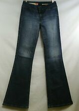 GUESS Womens Size 29 Stretch Denim Flare Bootcut Jeans Pocketless Stitched Sides