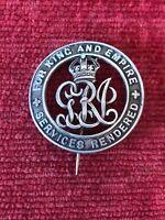 WW1 Silver War Badge  B 288243 Jas Carlin of the 11th Bn Scots Rifles Wounds