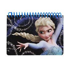 Brand New Disney Frozen Elsa Black Notebook Memo Book Autograph Book