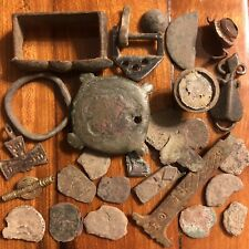 Ancient Medieval Artifacts European Metal Detector Finds Authentic Viking Roman