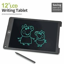 12'' Digital LCD Writing Tablet Pad For Boogie Board Style Writer Boards Stylus