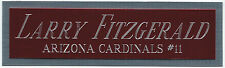 LARRY fitzgerald CARDS NAMEPLATE AUTOGRAPH Signed Football HELMET JERSEY PHOTO
