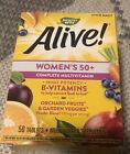 Nature's Way Alive! WOMEN'S 50+ COMPLETE MULTI-VITAMIN MULTI-MINERAL 50-Tablets