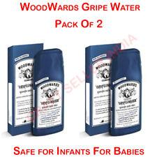 Pack Of 2 Bottles WoodWards Gripe Water -Safe for Infants -130 ml