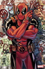 PANINI COMICS DEADPOOL COVER MATTEO LOLLI PARIS COMIC CON 1300 EXEMPLAIRES