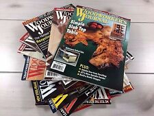 Woodworker's Journal Magazine Lot of 12 Issues From '14 '15 '16 Toys Furniture