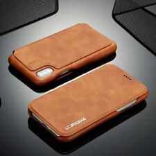 Para iPhone X 6s 7 Samsung S8 Flip Luxury Funda De Piel Funda Para Tarjeta