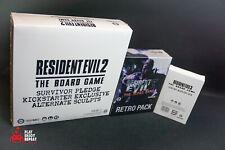 Resident Evil 3 und 2 Brettspiel Bundle Retro Hunter Monster Kickstarter SFG